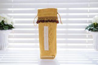 Gold satin brolly bag
