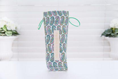 Green Liberty paisley brolly bag