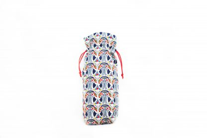 Traditional Navy William Morris Brolly Bag