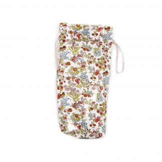 Liberty pink floral print brolly bag