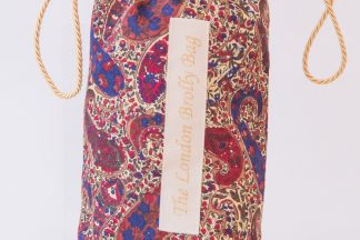 Purple liberty paisley brolly bag