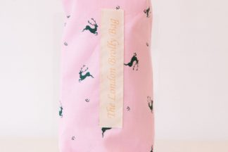 Pink Reindeer brolly bag
