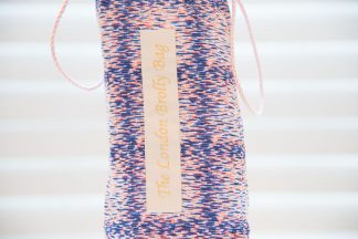 Liberty pink and blue print brolly bag