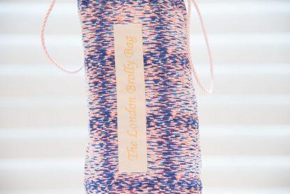 Liberty pink and blue print brolly bag