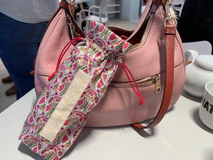 brolly bag, umbrella bag, art deco, pink, london umbrella, wet bag, waterproof
