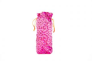 Pink Mosaic Print Brolly Bag