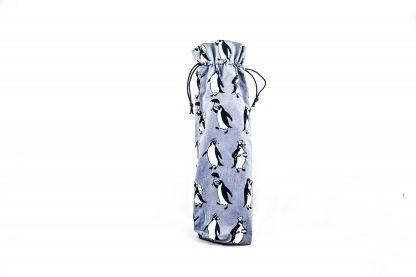 Blue penguin brolly bag